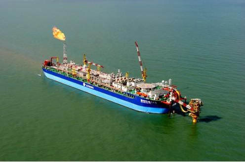 """""""海洋石油113"""" fpso"""